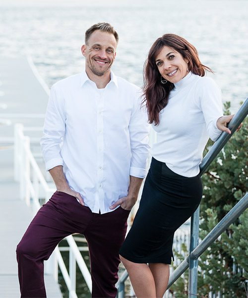 Lake Arrowhead Real Estate Agents Chrissy Stahl-Hammer and Jeff Teel